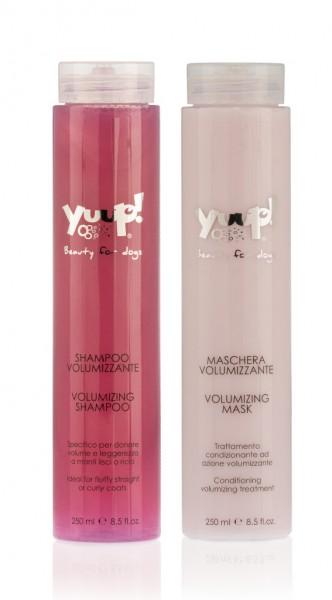 """Yuup!® Pflegeset """"Volumen"""": Volumen Hundeshampoo und Maske für Pudel & Co."""