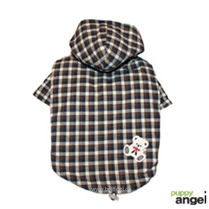 "Puppy Angel® Hunde-Wendemantel ""Two Way Teddy Fleece"" (braun)"