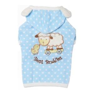 """Puppy Angel® Schlafanzug für Hunde """"Real Buddy"""" (hellblau)"""