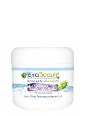 Terra Beauté® Pflegemaske mit Totem Meer Salz und Aloe Vera Extrakt