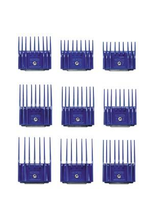 Andis® Kunststoff-Aufsteckkämme - 9 Stück im Set