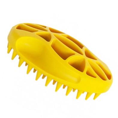 IdealDog® Gummibürsten Handstriegel für dichtes Fell