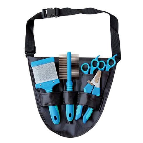 Tikima® Hundefriseur-Hüfttasche für Groomerzubehör