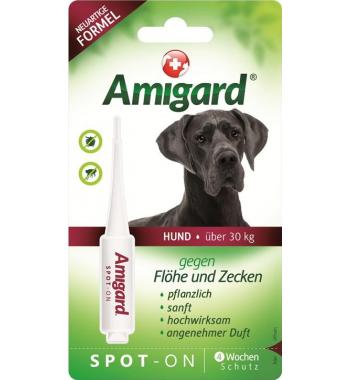 Amigard® Spot-On Pipette gegen Flöhe und Zecken für große Hunde ab 30 kg