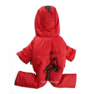 "Puppy Angel® ""Portobello Road"" doppelseitiger Bodysuit für Hunde (rot)"