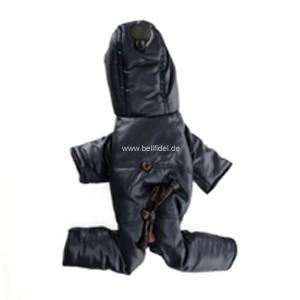 "Puppy Angel® ""Portobello Road"" doppelseitiger Bodysuit für Hunde (marineblau)"