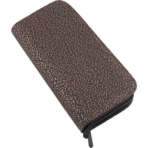 Vivog® Scherenetui für 8 Werkzeuge (schwarz-bronze)