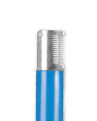 IdealDog® Trimmmesser mit mittelgrober Zahnung (blau)
