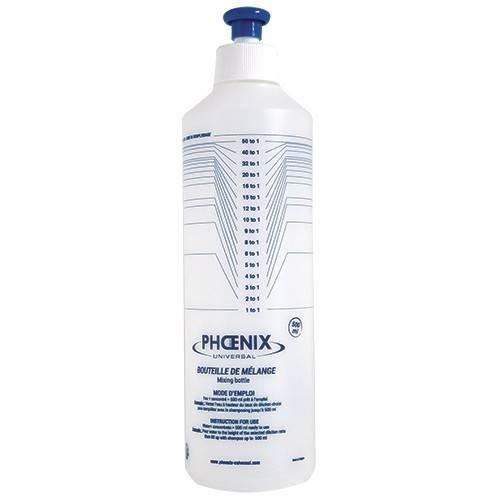Phoenix Universal® Shampoo-Mischflasche (500 ml)