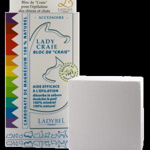 Ladybel® Kreideblock / Magnesiumblock zum Trimmen