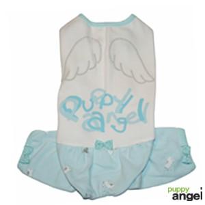 "Puppy Angel® Hunde-Pyjama ""My Little Angel"" (blau)"