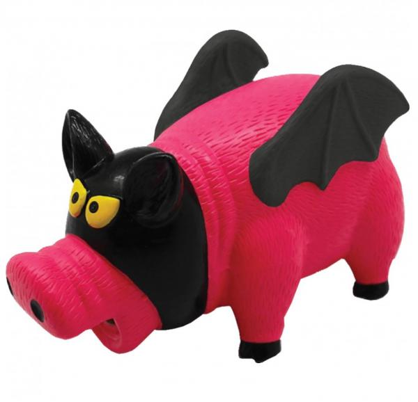 Chadog® Grunzende Latex-Schweinefledermaus - 16 cm