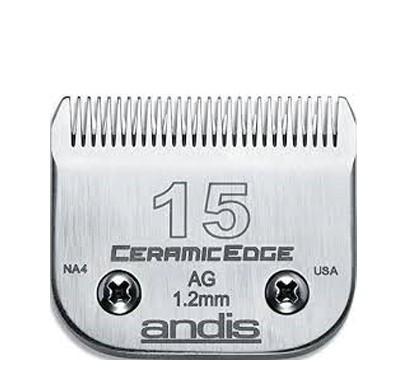 Andis® CeramicEdge SnapOn Scherkopf N°15 * Schnittlänge 1,2 mm
