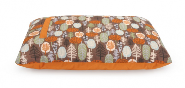 "Camon® rechteckiges Hundekissen ""Fantasy Forest"" - orange"