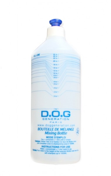 Dog Generation® Shampoo-Mischflasche (1000 ml)