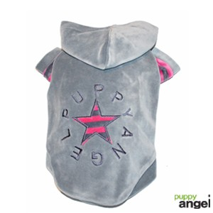 "Puppy Angel® Hundejumper ""PA-Signature"" (grau/pink)"