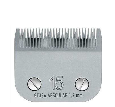 Aesculap® SnapOn Scherkopf #15 * Schnittlänge 1,2 mm