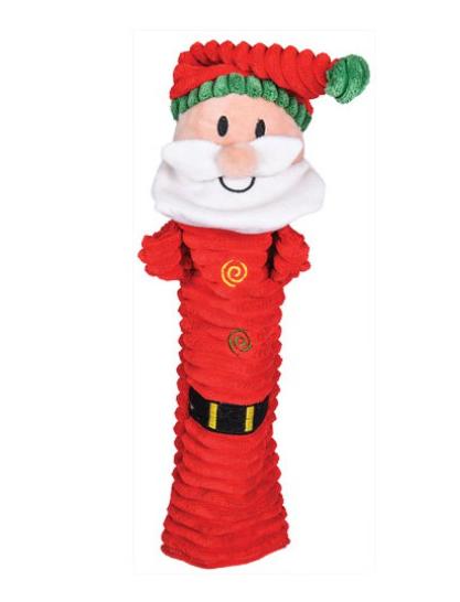 """Chadog® Flaches Plüschtier mit Quietscher """"Santa Claus"""""""