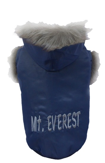"DoggyDolly® Hundejacke ""Mt. Everest"" (dunkelblau)"