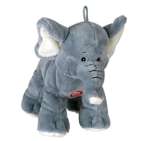 """Chadog® Plüsch Hundespielzeug """"Elefant"""" mit Quietscher"""