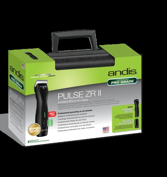 """Andis® Akku-Schermaschine """"Pulse ZR II"""" (im Koffer, inkl. Scherkopf und 2 Akkus)"""