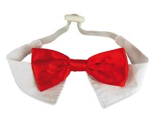 WOUAPY® Hunde-Weihnachtsfliege für kleine Hunde (S: Halsumfang 20 cm)