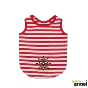 "Puppy Angel® ""Little Pirate"" Hunde T-Shirt (rot)"