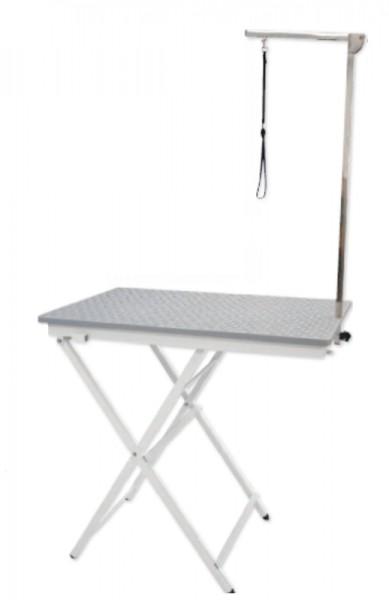 Vivog® Klappbarer Trimmtisch für mittelgroße Hunde (Tischplatte 90x60 cm)