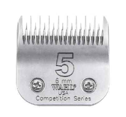 """WAHL® """"Competition Series"""" SnapOn Scherkopf #5 * Schnittlänge 6 mm grob"""