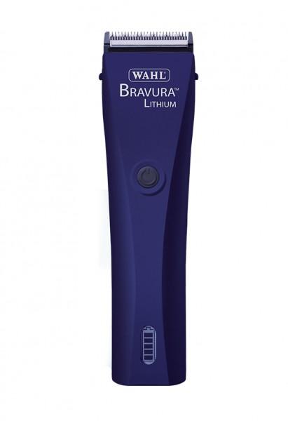 """WAHL® Netz-/Akku-Schermaschine """"Bravura Lithium"""" MIDNIGHT BLUE (inkl. Scherkopf und 6 Aufschiebkämme"""