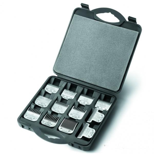 Andis® Aufbewahrungskoffer für 12 Scherköpfe