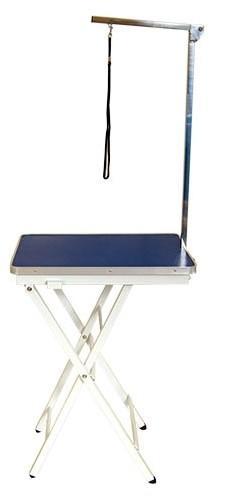 Ibanez® Klapptisch für kleine Hunde (Tischplatte 60 x 44 cm, blau)