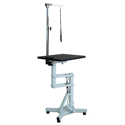 Ibanez® Hydraulischer Trimmtisch mit rechteckiger, rotierender Tischplatte (45 x 60 cm)