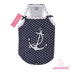 """Pinkaholic NY® """"Oceanic"""" Hunde T-Shirt (marineblau)"""