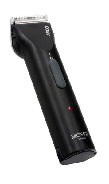 """MOSER® """"Arco"""" Akkuschermaschine (inkl. 2 Akkus, Scherkopf und 4 Aufsteckkämmen )"""