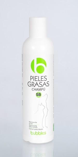 "Bubbles® Vet Line Hundeshampoo für fettige Haut ""Pieles grasas SB"""