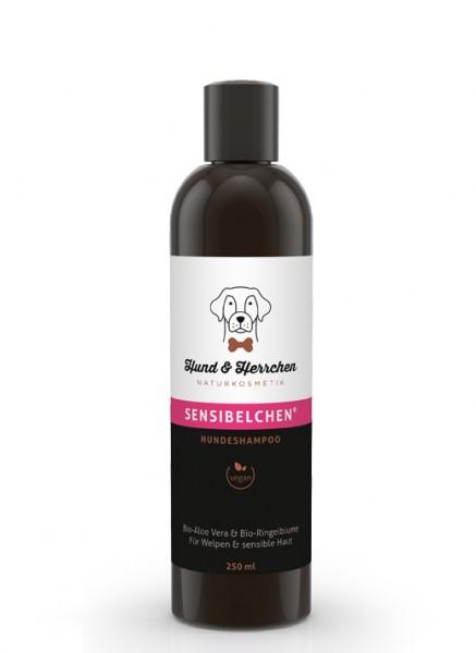"""Hund & Herrchen Hundeshampoo """"Sensibelchen"""" für Problemhaut"""
