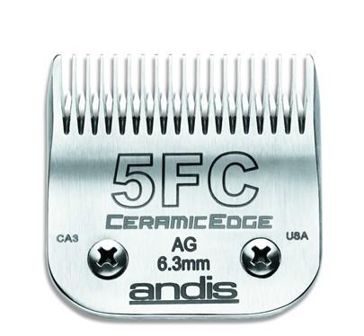 Andis® CeramicEdge SnapOn Scherkopf N°5FC * Schnittlänge 6,3 mm