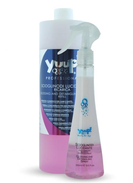 Yuup!® Professionelles Glanz- und Knotenlöser-Spray