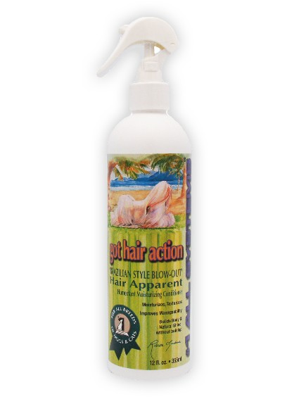 """#1 All Systems """"Got Hair Action"""" Conditioning-Hundespray mit Keratin"""
