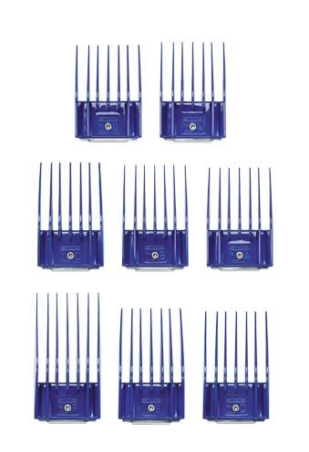 Andis® Kunststoff-Aufsteckkämme - 8 Stück im Set
