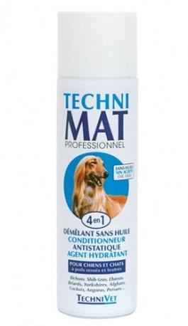 "TechniVet® 4-in-1 Ölfreies Entfilzungs- & Antistatik-Spray ""TECHNIMAT"""