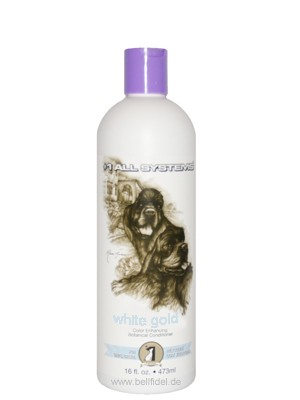 "#1 All Systems Farbauffrischender Hundeconditioner ""WHITE GOLD"""