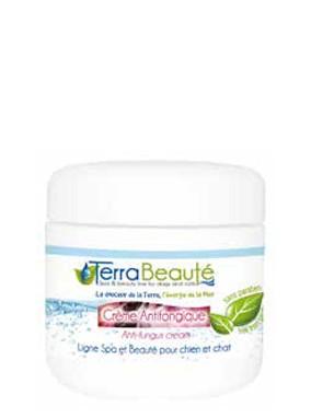 Terra Beauté® Antimykotische Creme für Hundehaut mit Salz des Toten Meeres und Teebaumöl