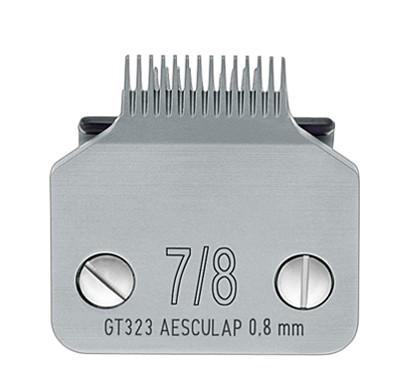 Aesculap® SnapOn Pfotenscherkopf #7/8 extra schmal * Schnittlänge 0,8 mm-Copy