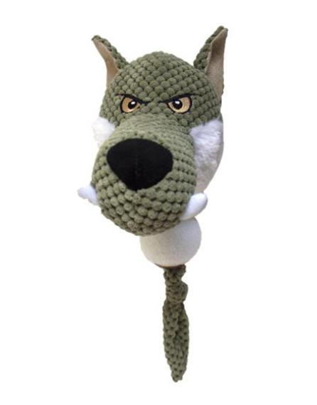 Chadog® Plüschwolf mit Ball