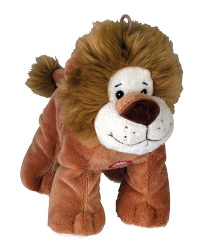 """Chadog® Plüsch Hundespielzeug """"Löwe"""" mit Quietscher"""