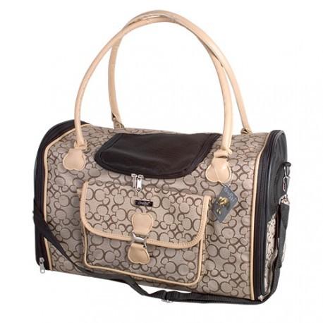 Doogy!® Faltbare Hundetransporttasche - beige