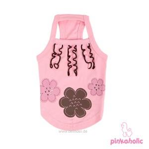 """Pinkaholic NY® """"Choco Mousse"""" Hundetop (pink)"""