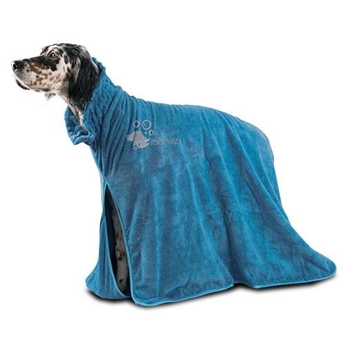 """Ibanez® Hundebademantel / Mikrofaser-Badeponcho """"Dry pet"""""""